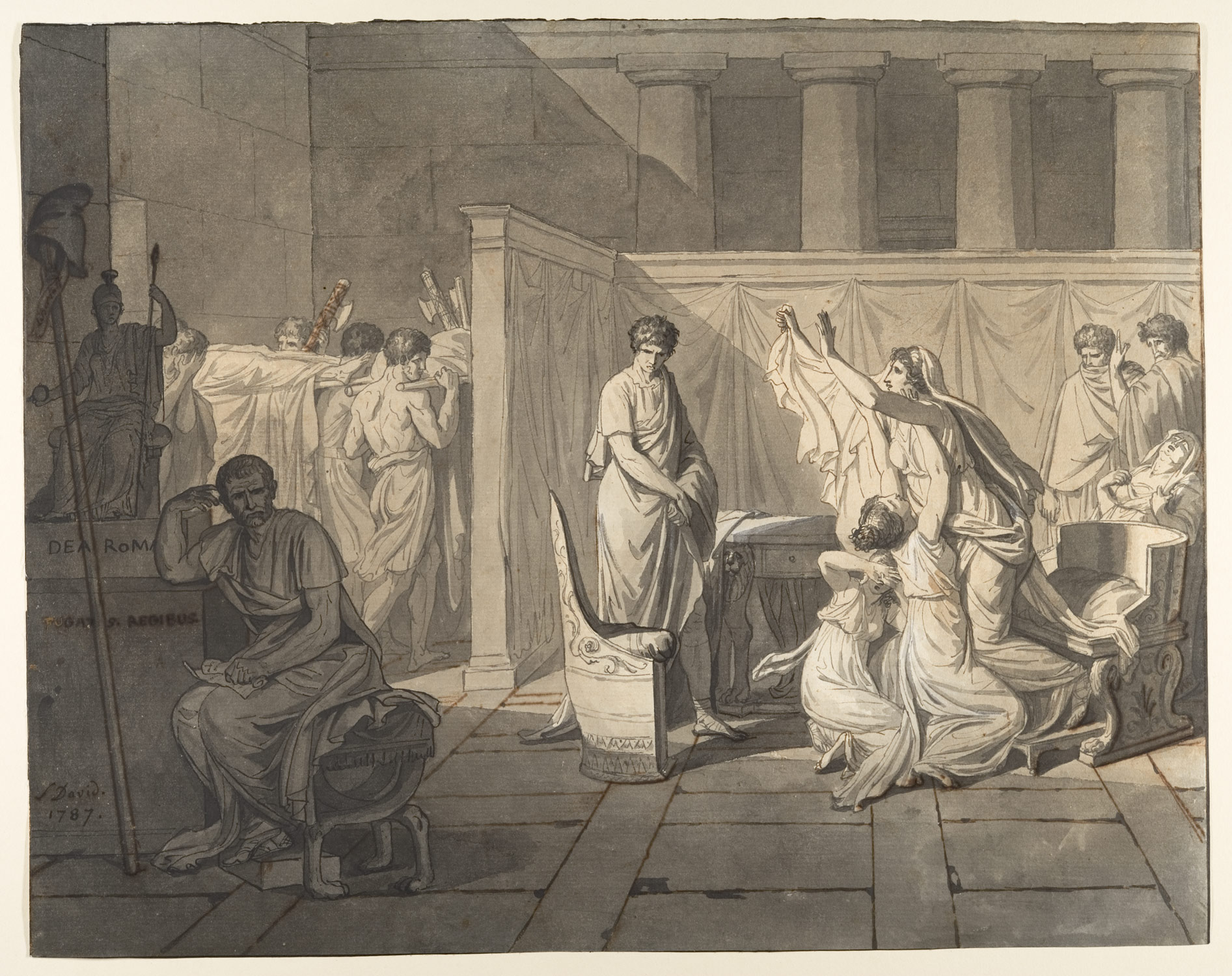 the legacy of jacques louis david 1748 1825 essay heilbrunn study for the lictors bringing brutus the bodies of his sons