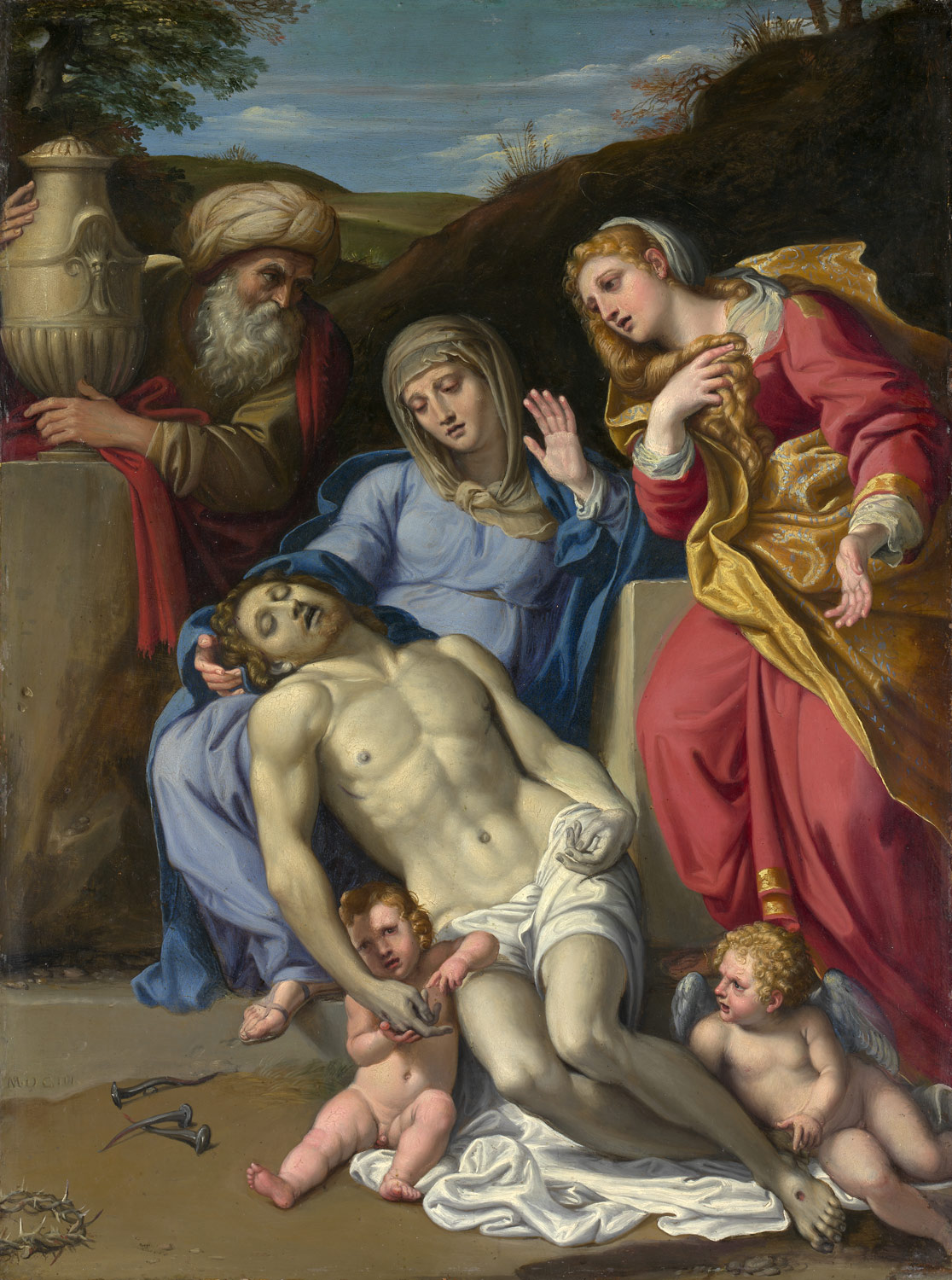 the crucifixion and passion of christ in italian painting essay the lamentation the lamentation