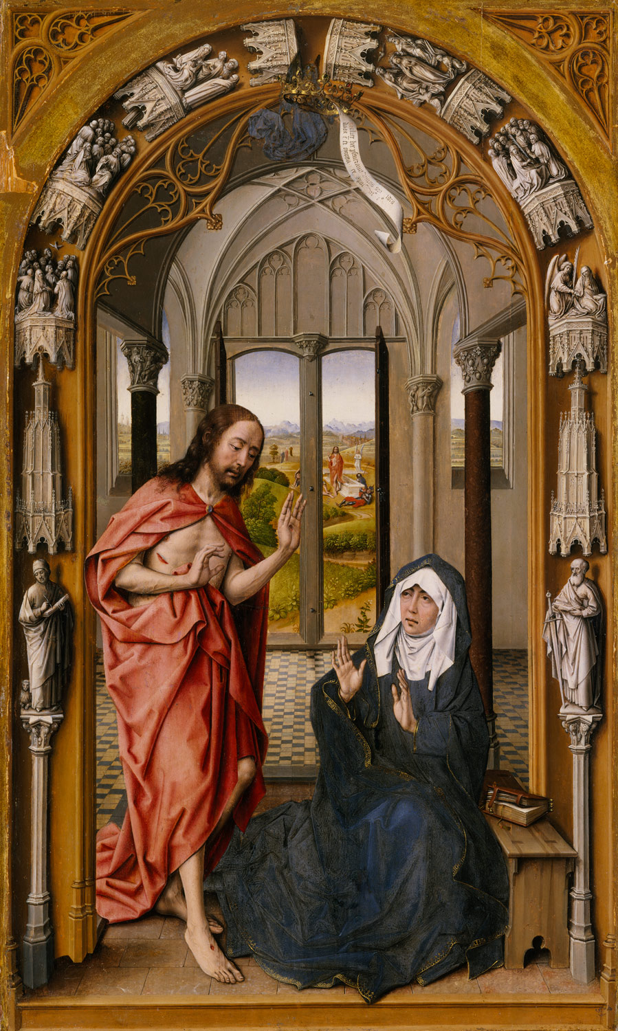 Christ Appearing to His Mother