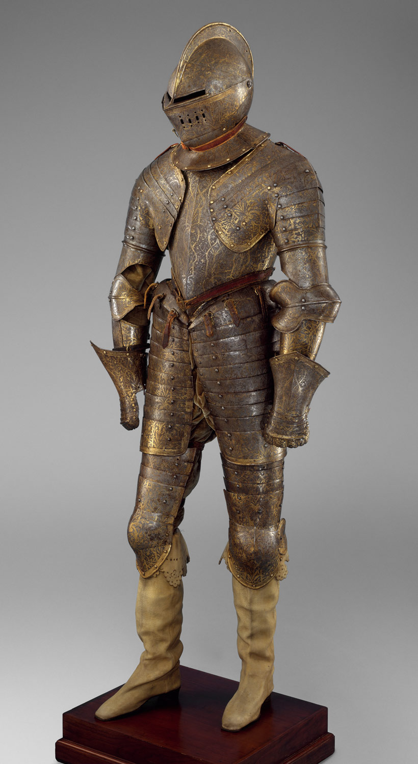 Armor for Heavy Cavalry with Matching Shaffron