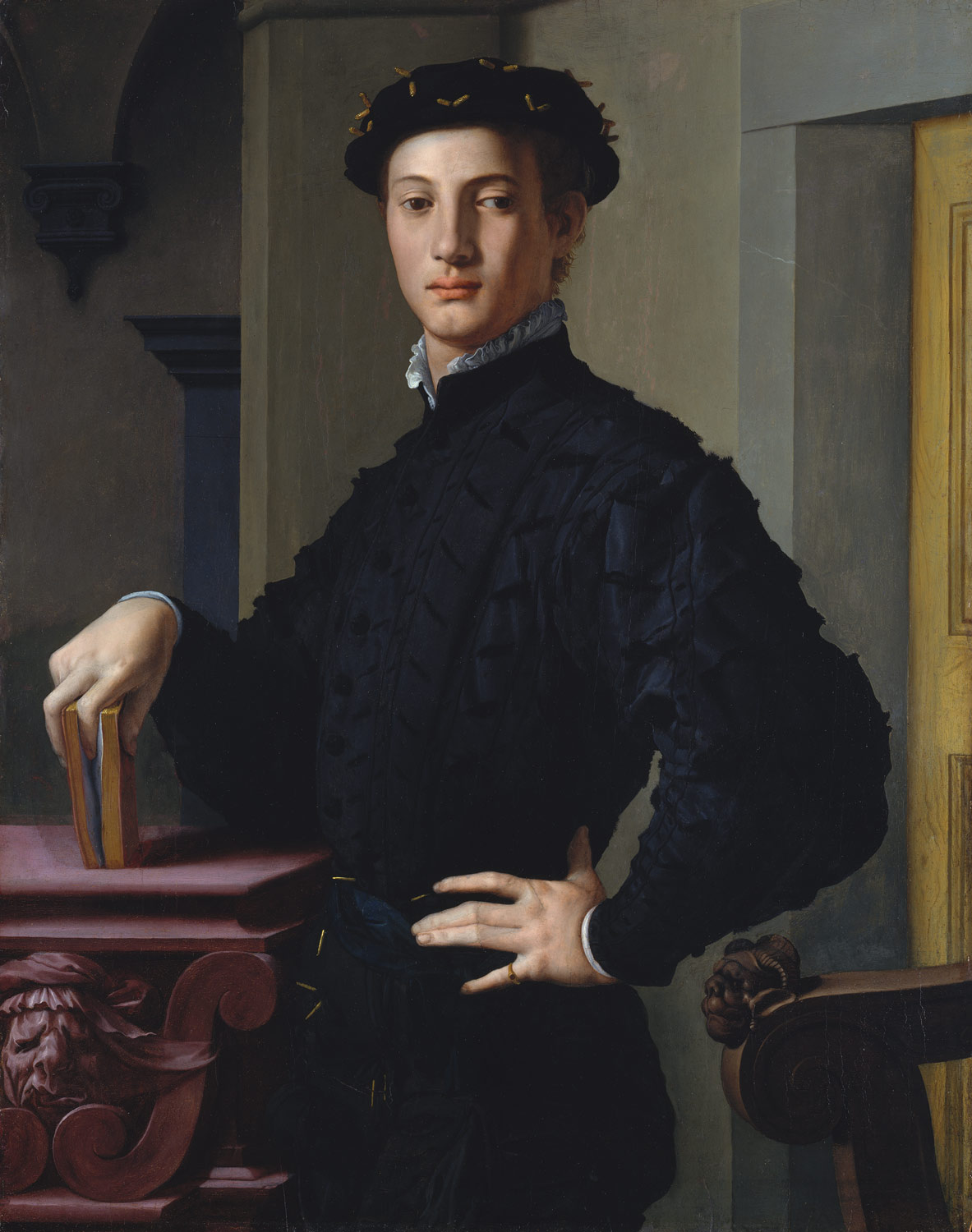 portrait of a young man bronzino agnolo di cosimo di mariano portrait of a young man