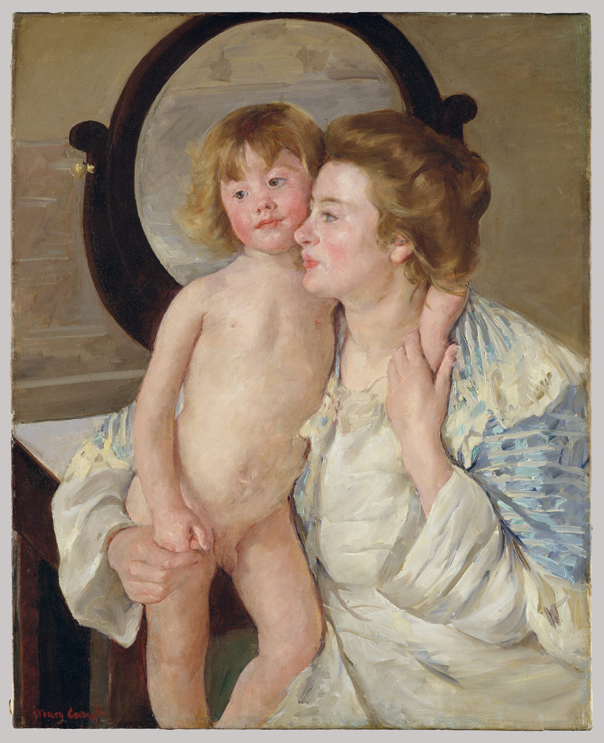 women artists in nineteenth century essay heilbrunn mother and child the oval mirror