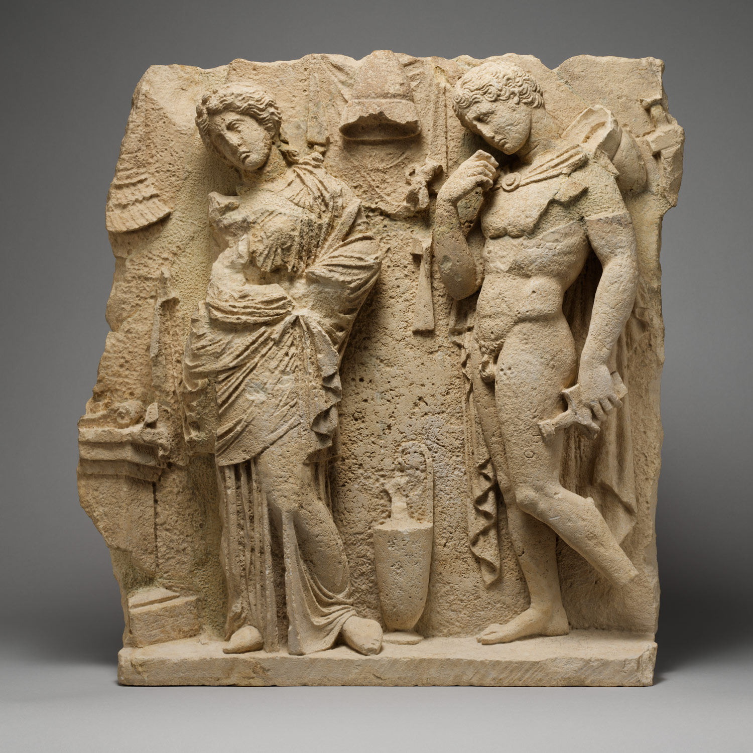 ancient greek colonization and trade and their influence on greek limestone funerary relief limestone funerary relief middot terracotta architectural