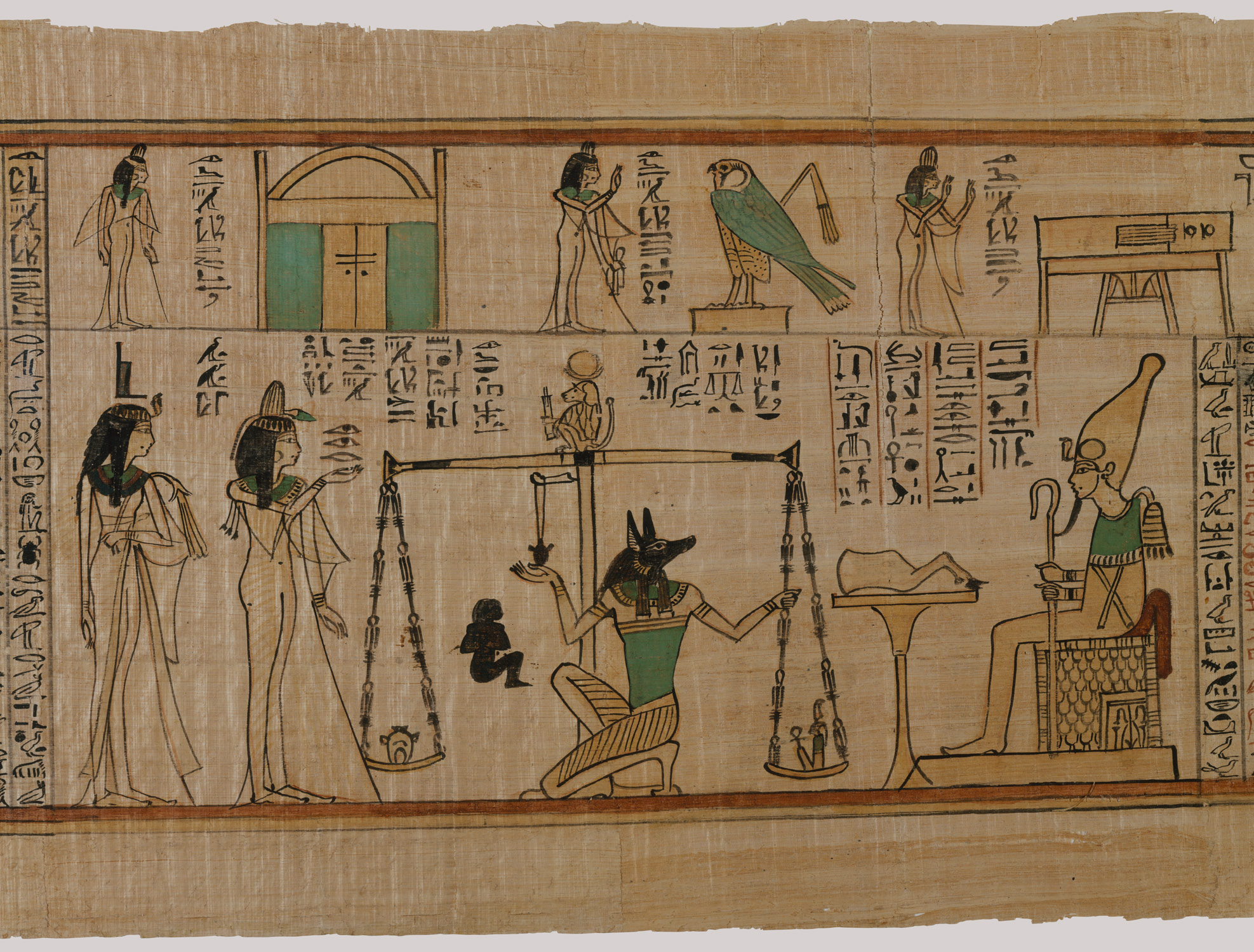 The Singer of Amun Nanys Funerary Papyrus