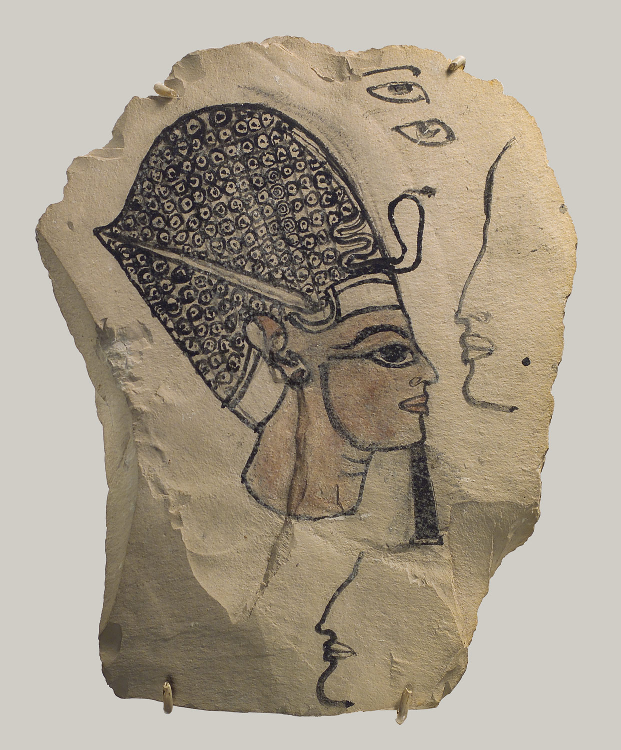 Artists Sketch of Ramesses IV