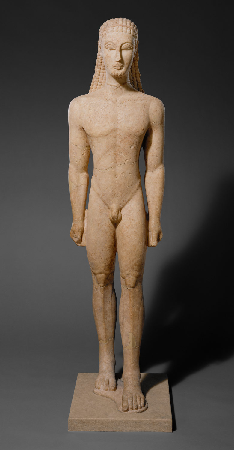 death burial and the afterlife in ancient essay marble statue of a kouros youth