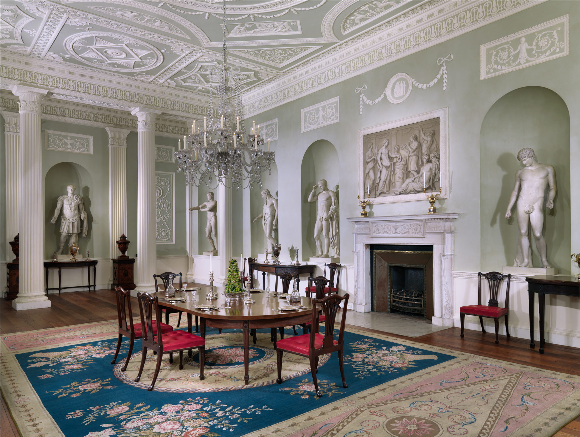 Dining Room From Lansdowne House After Robert Adam