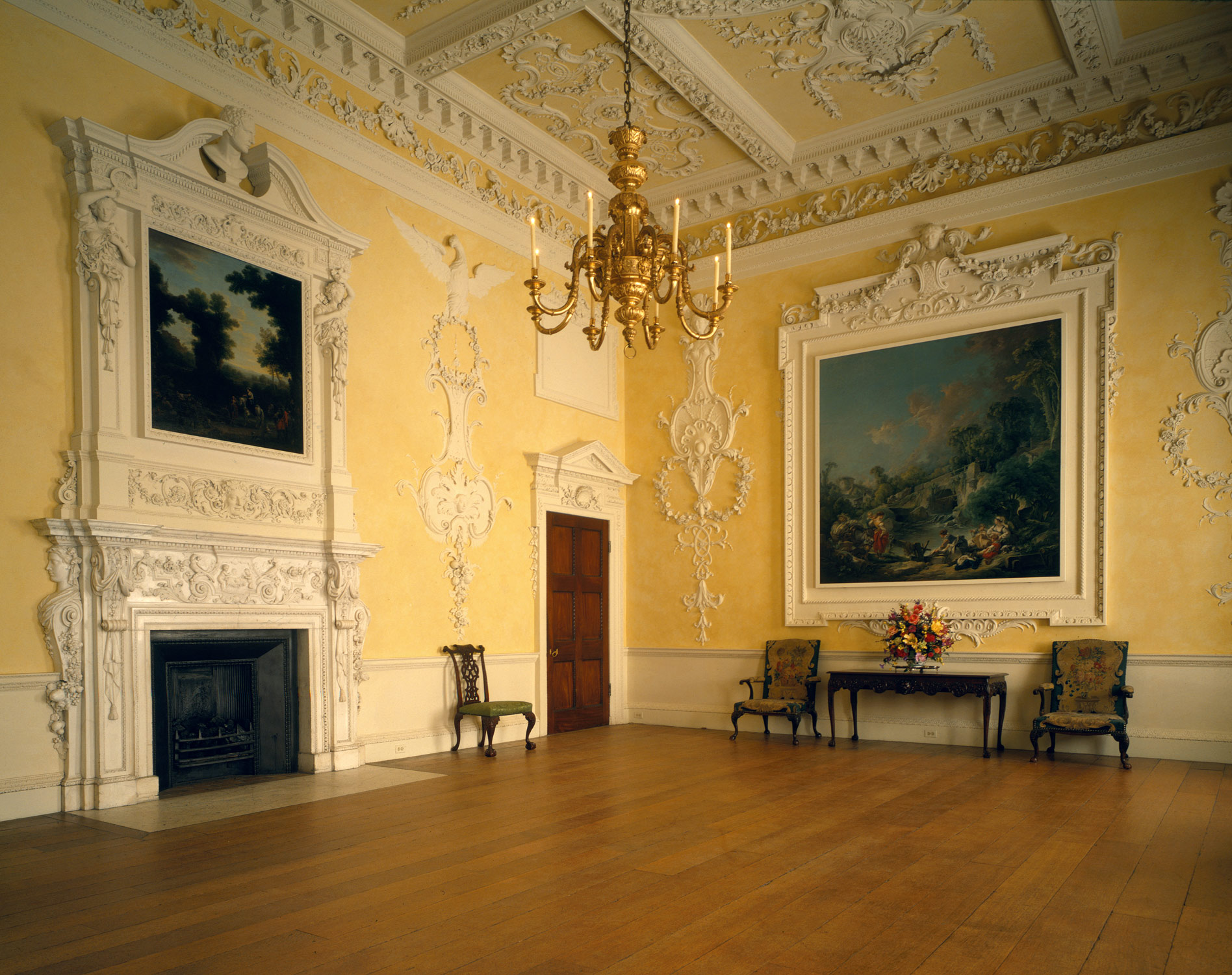 Dining room from Kirtlington Park