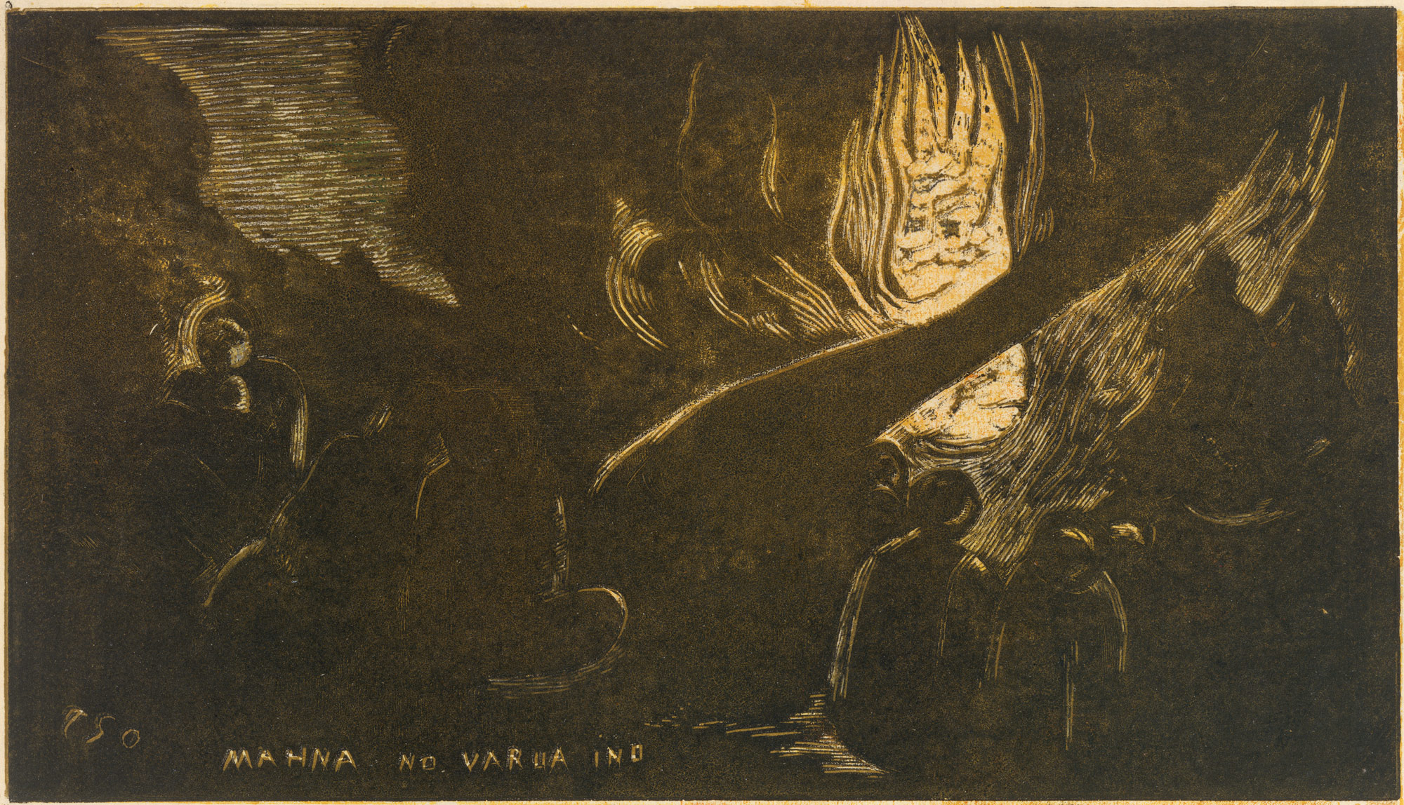 The Devil Speaks (Mahna No Varua Ino), from Fragrance (Noa Noa)