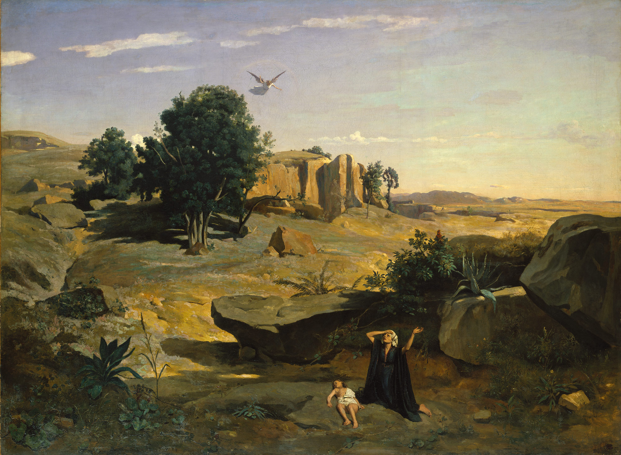 Hagar in the Wilderness
