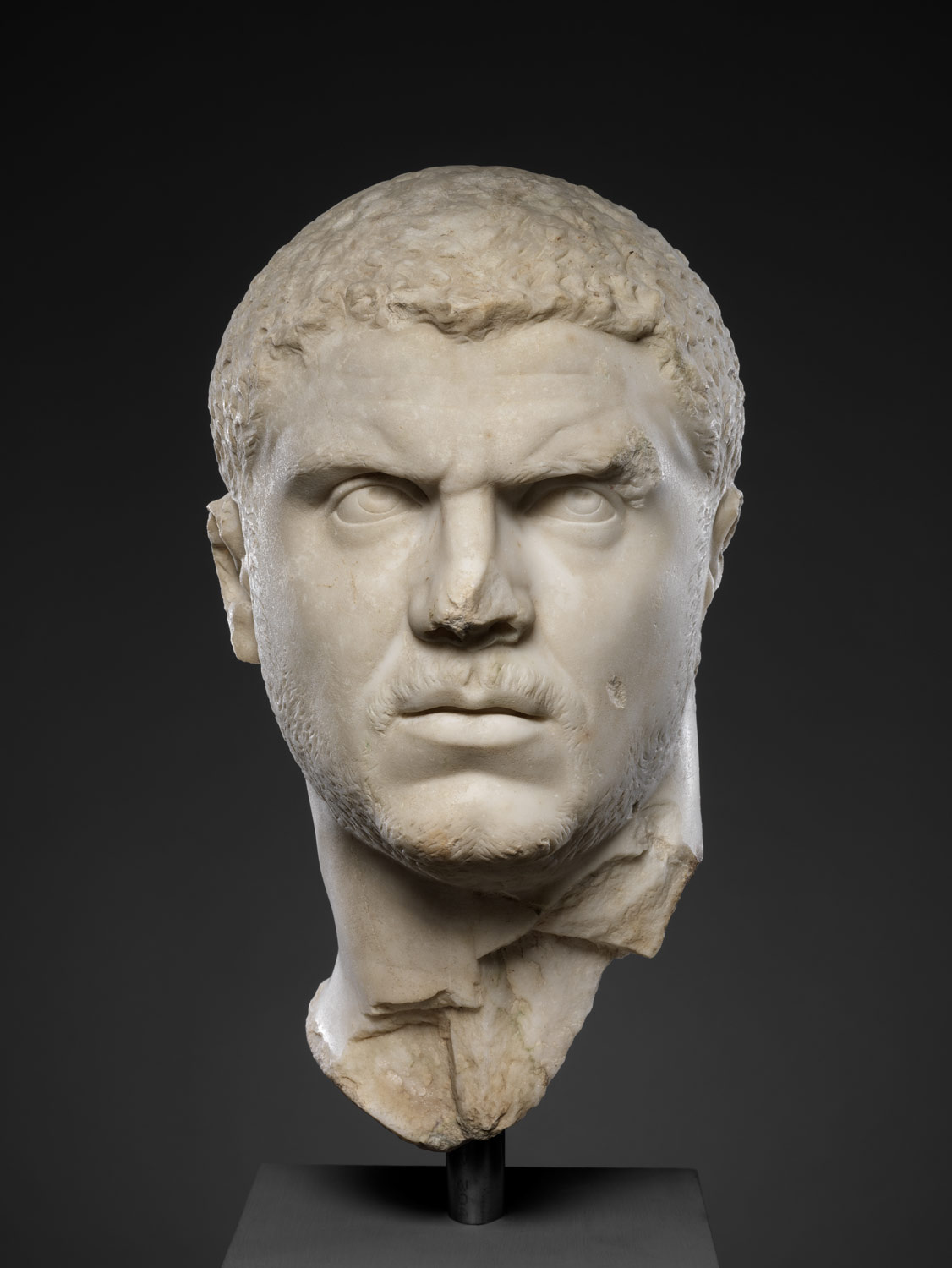 Marble Portrait Of The Emperor Caracalla Work Of Art