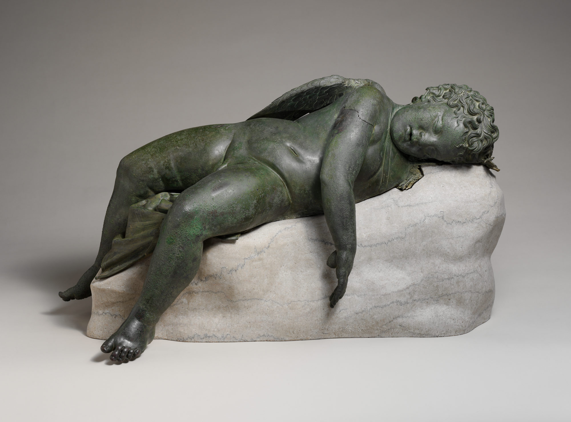 the nude in western art and its beginnings in antiquity essay bronze statue of eros sleeping