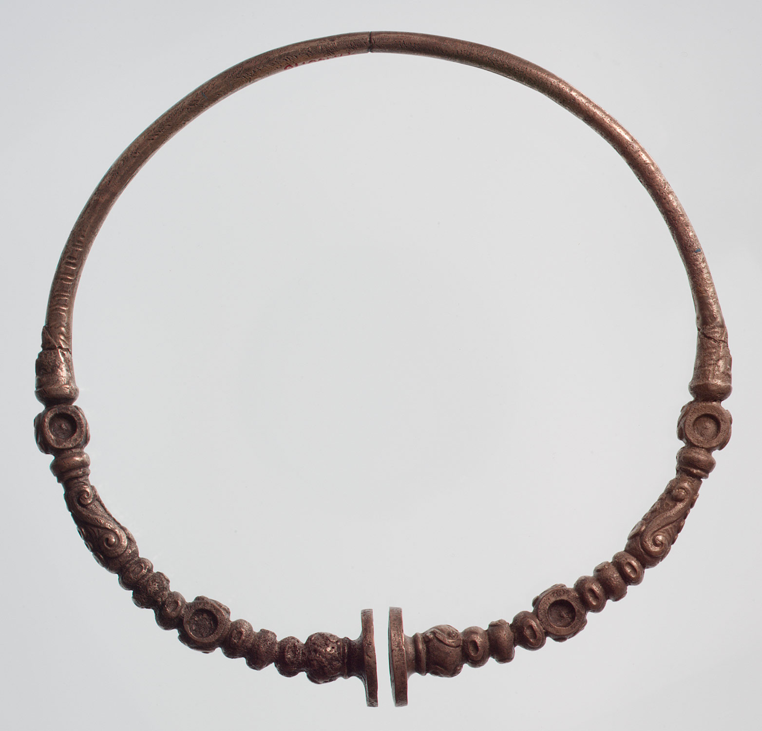 Silver Neck Ring