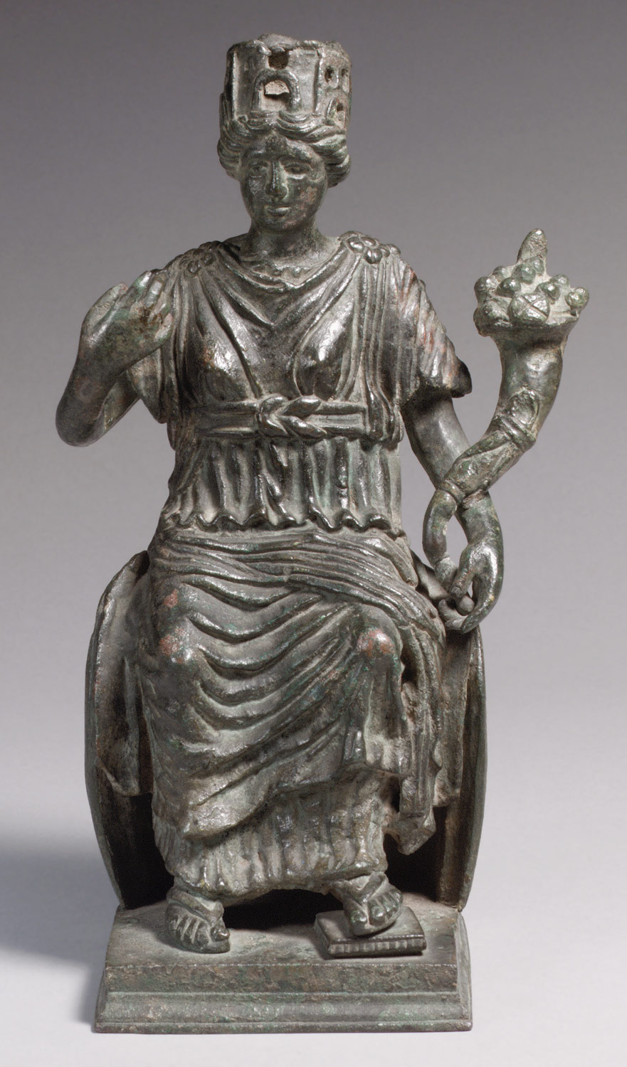 Statuette of a Personification of a City