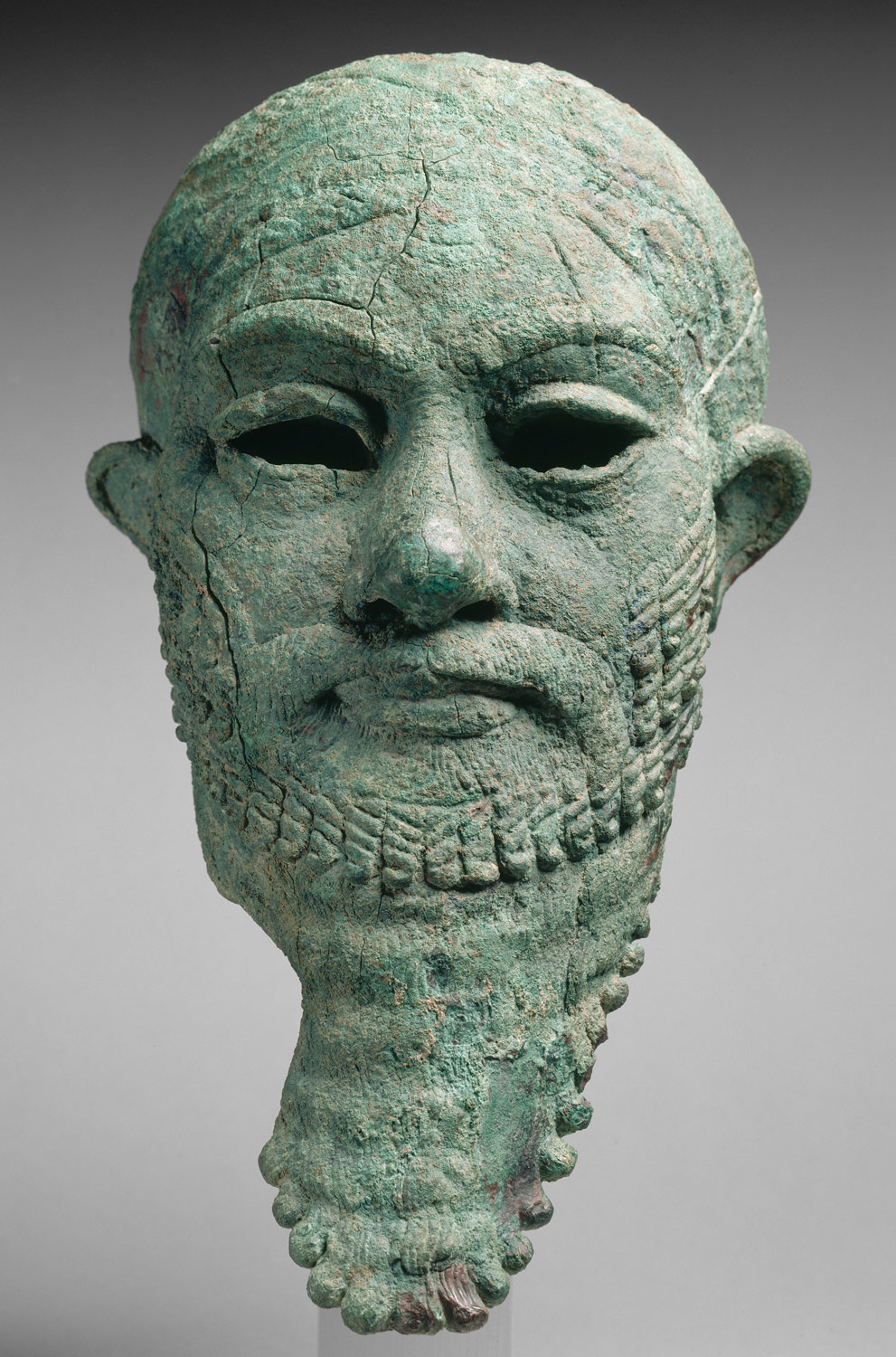 Head of a ruler
