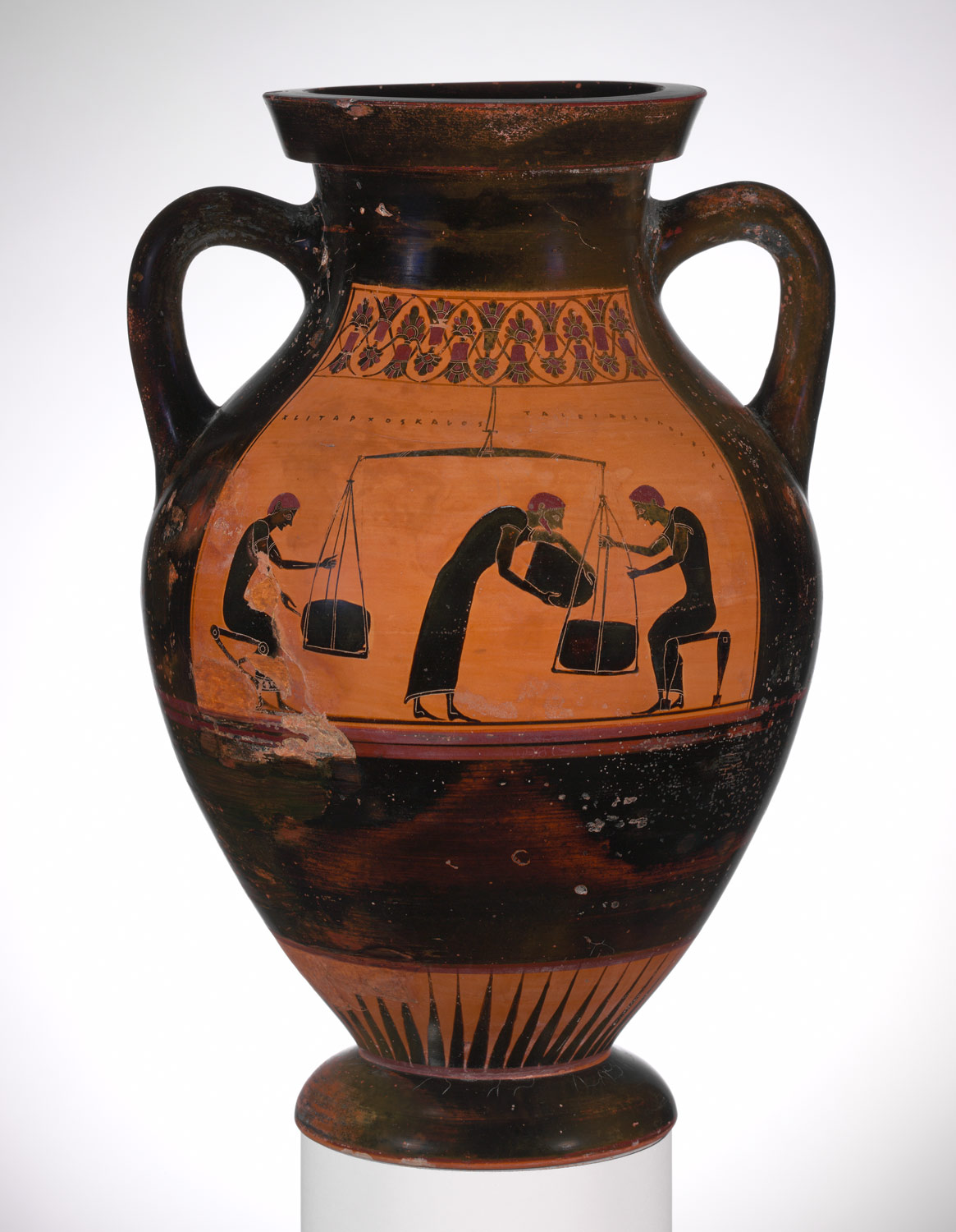 theseus hero of athens essay heilbrunn timeline of art terracotta amphora jar