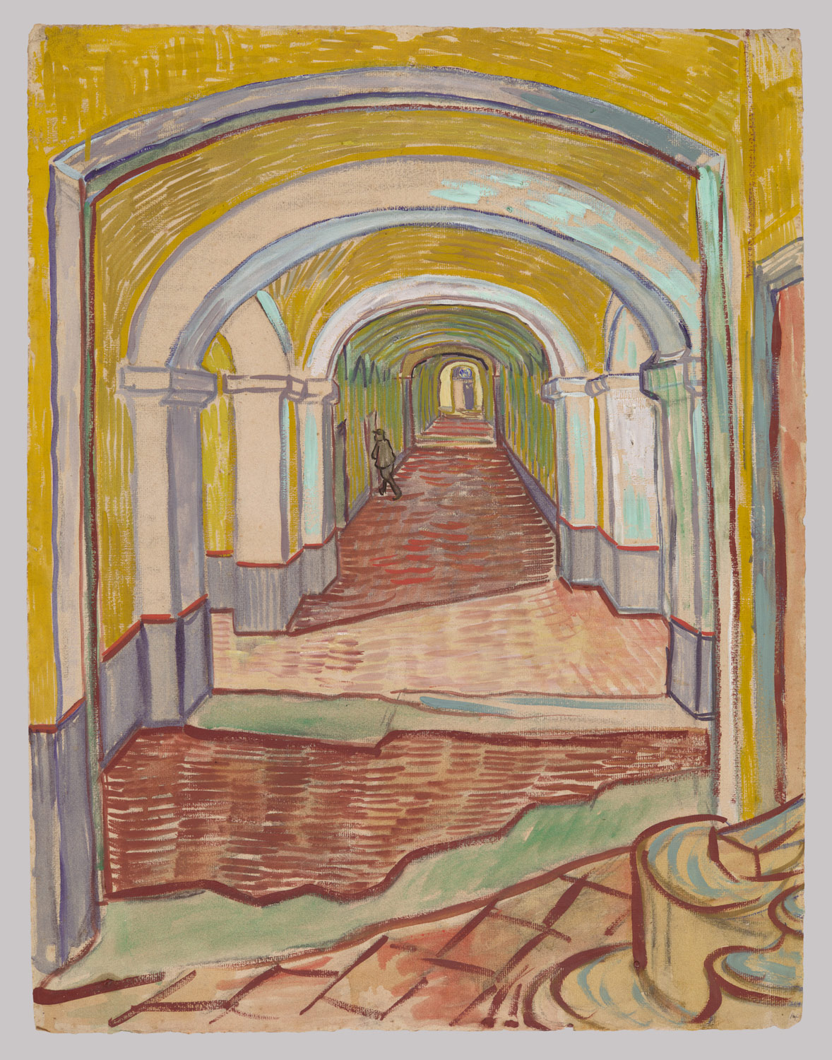 vincent van gogh 1853 1890 essay heilbrunn timeline of art corridor in the asylum