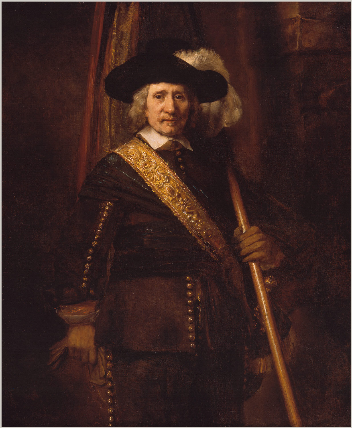 rembrandt van rijn paintings essay heilbrunn the standard bearer floris soop