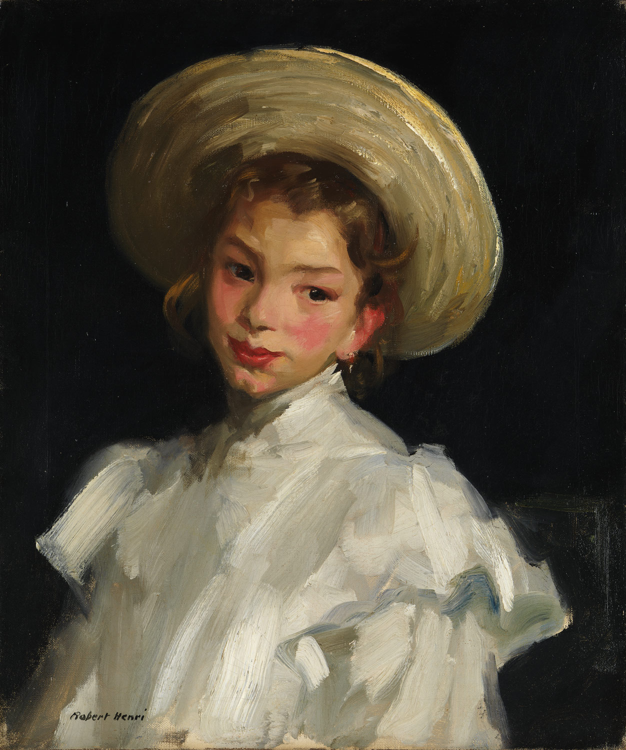 Dutch Girl in White