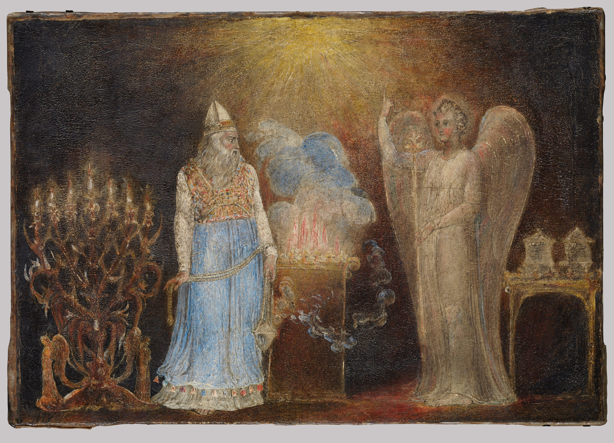 The Angel Gabriel Appearing to Zacharias
