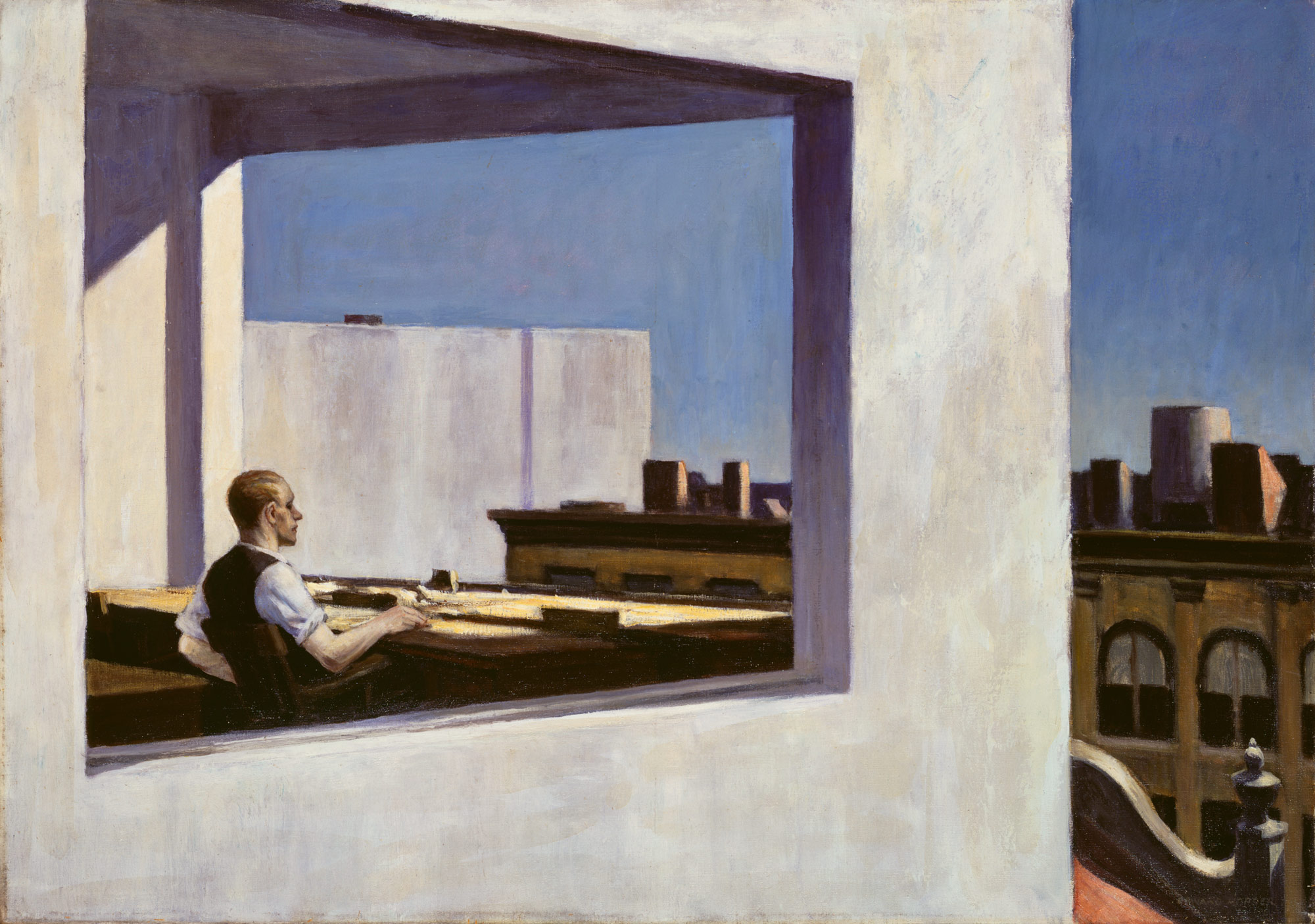 edward hopper essay heilbrunn timeline of art office in a small city