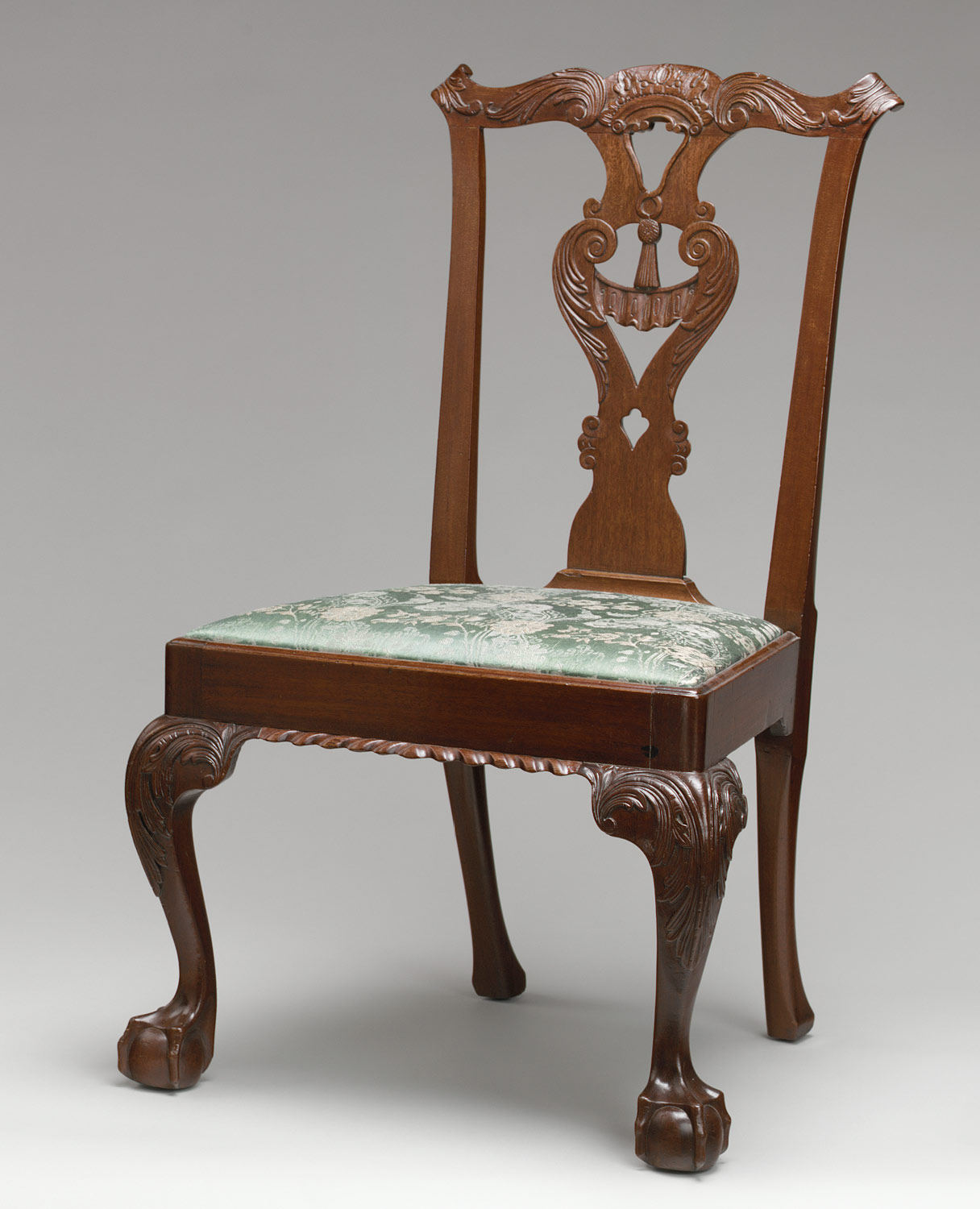 Queen anne chair history - Side Chair