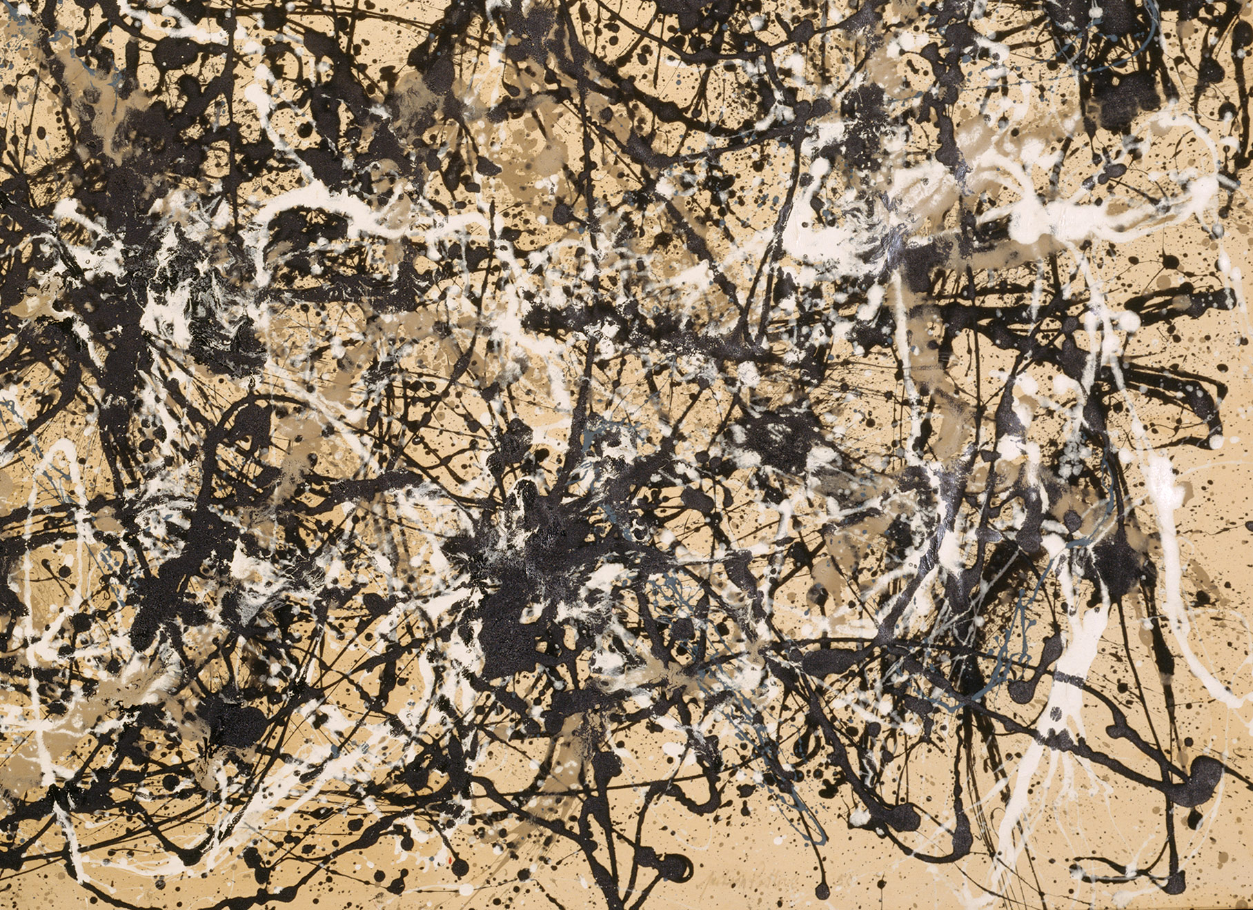 autumn rhythm number 30 jackson pollock 57 92 work of art autumn rhythm number 30