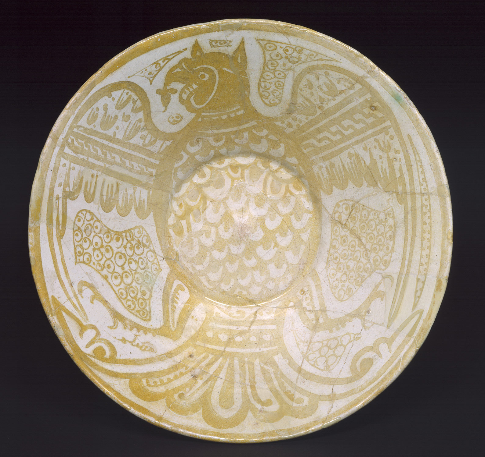 Bowl with Eagle