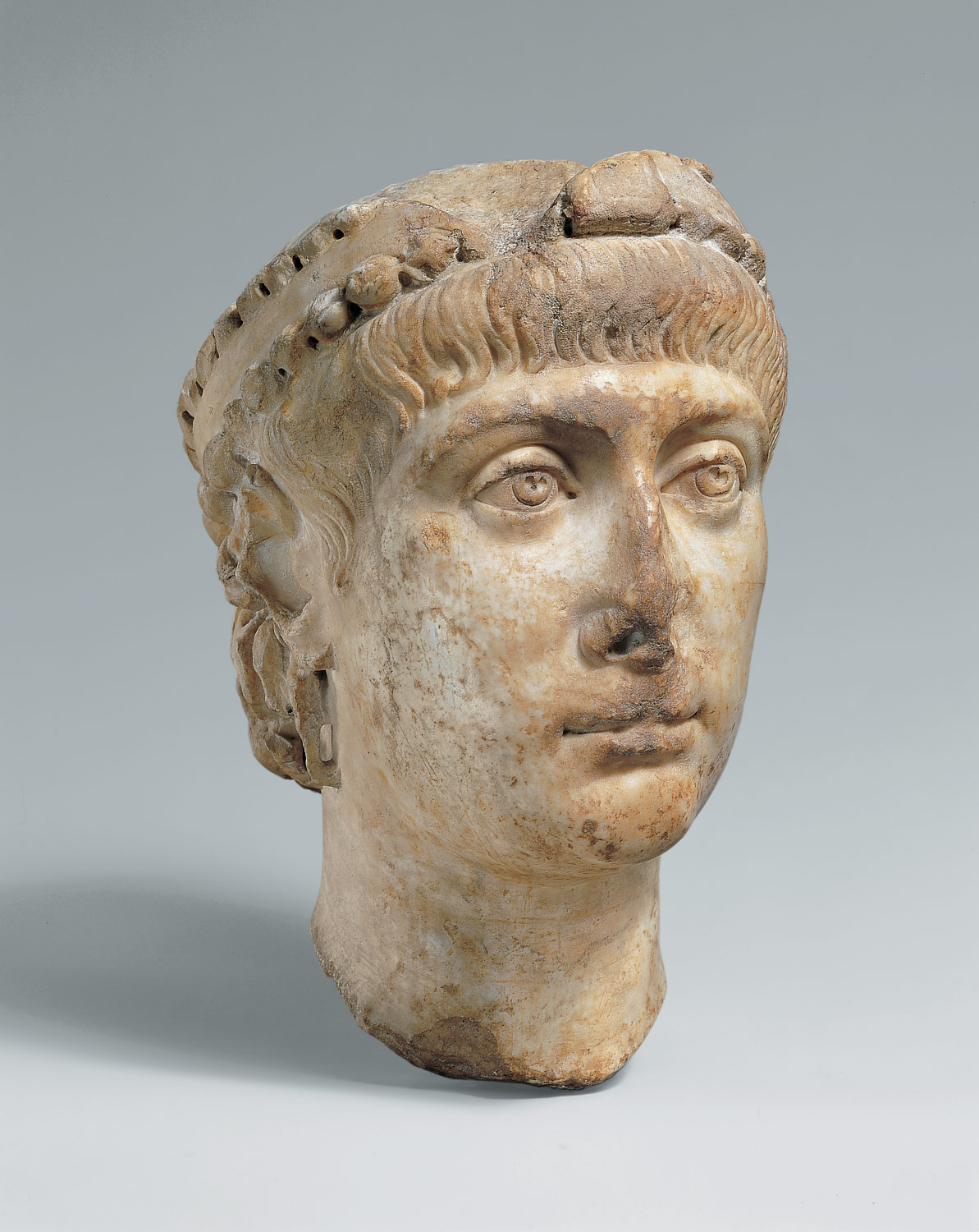Head of Emperor Constans (r. 337-350)