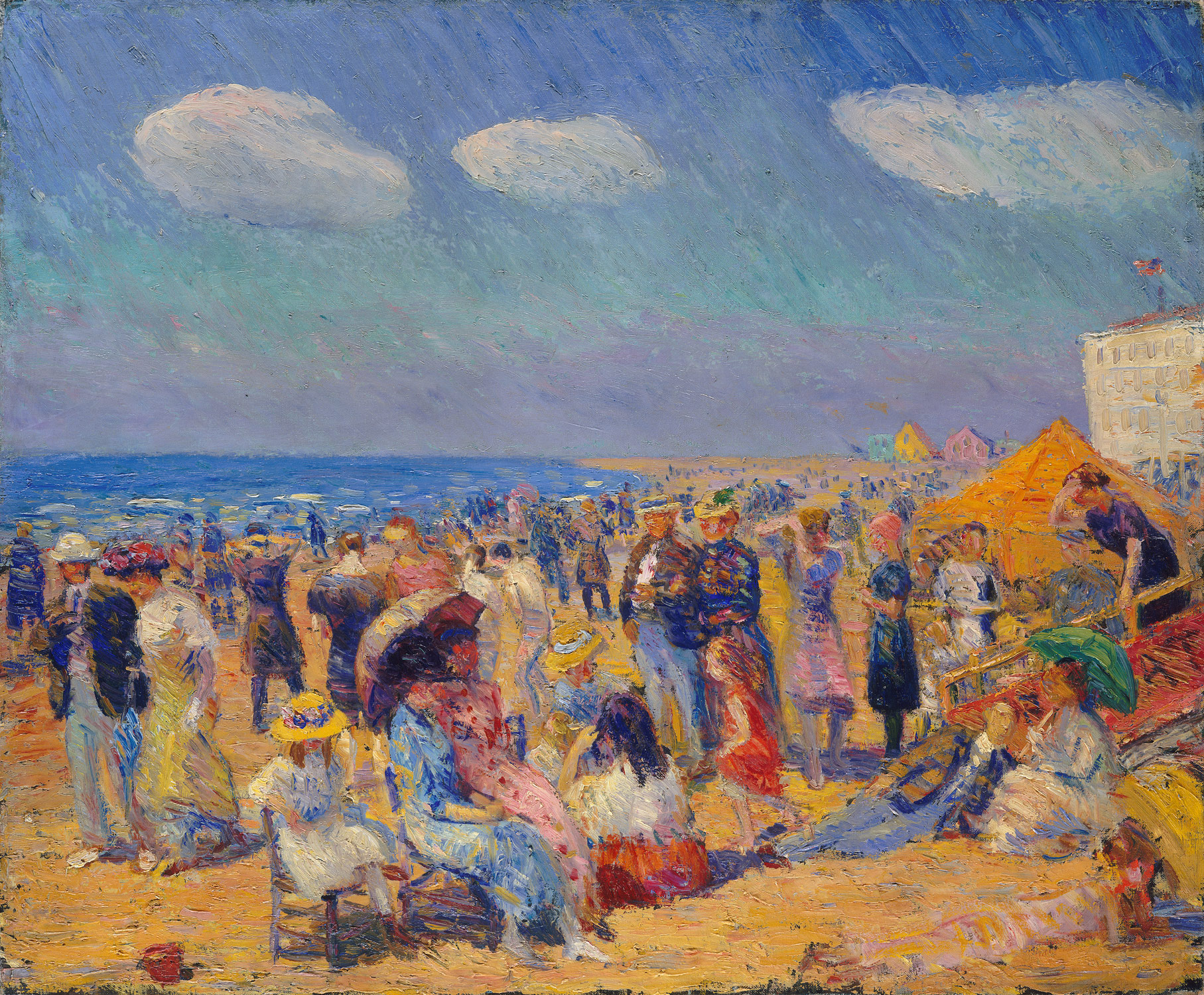 Crowd at the Seashore