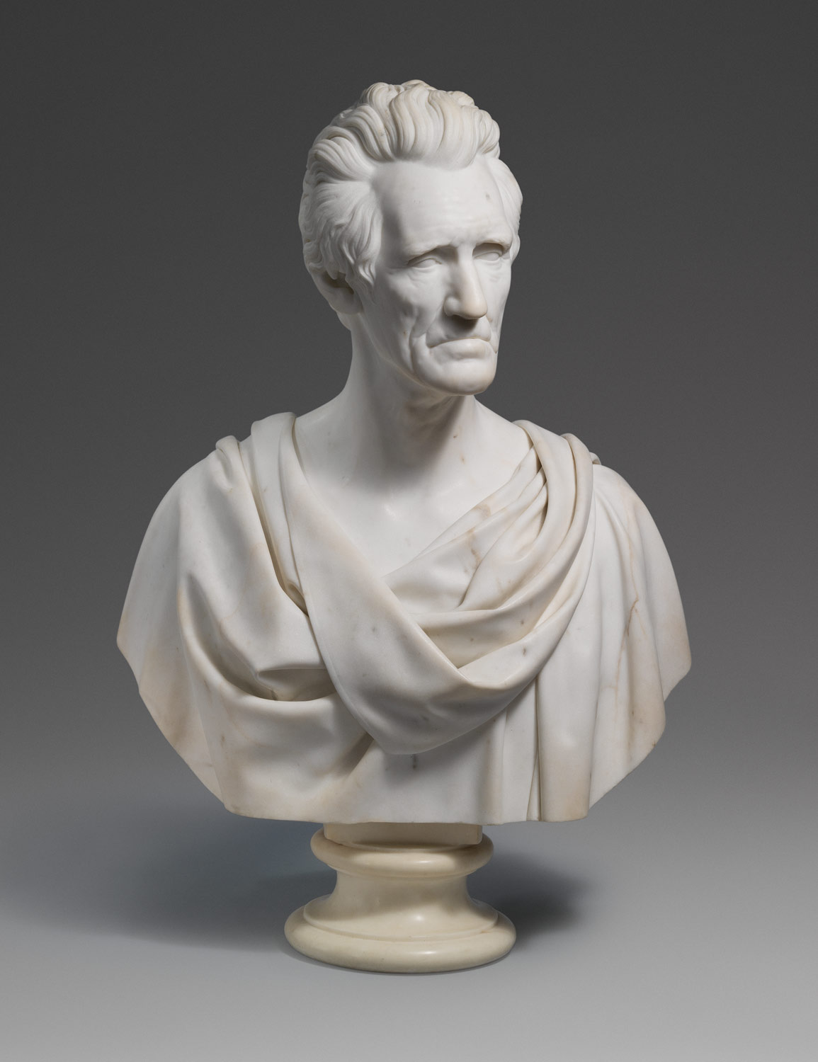 andrew jackson hiram powers 94 14 work of art heilbrunn andrew jackson