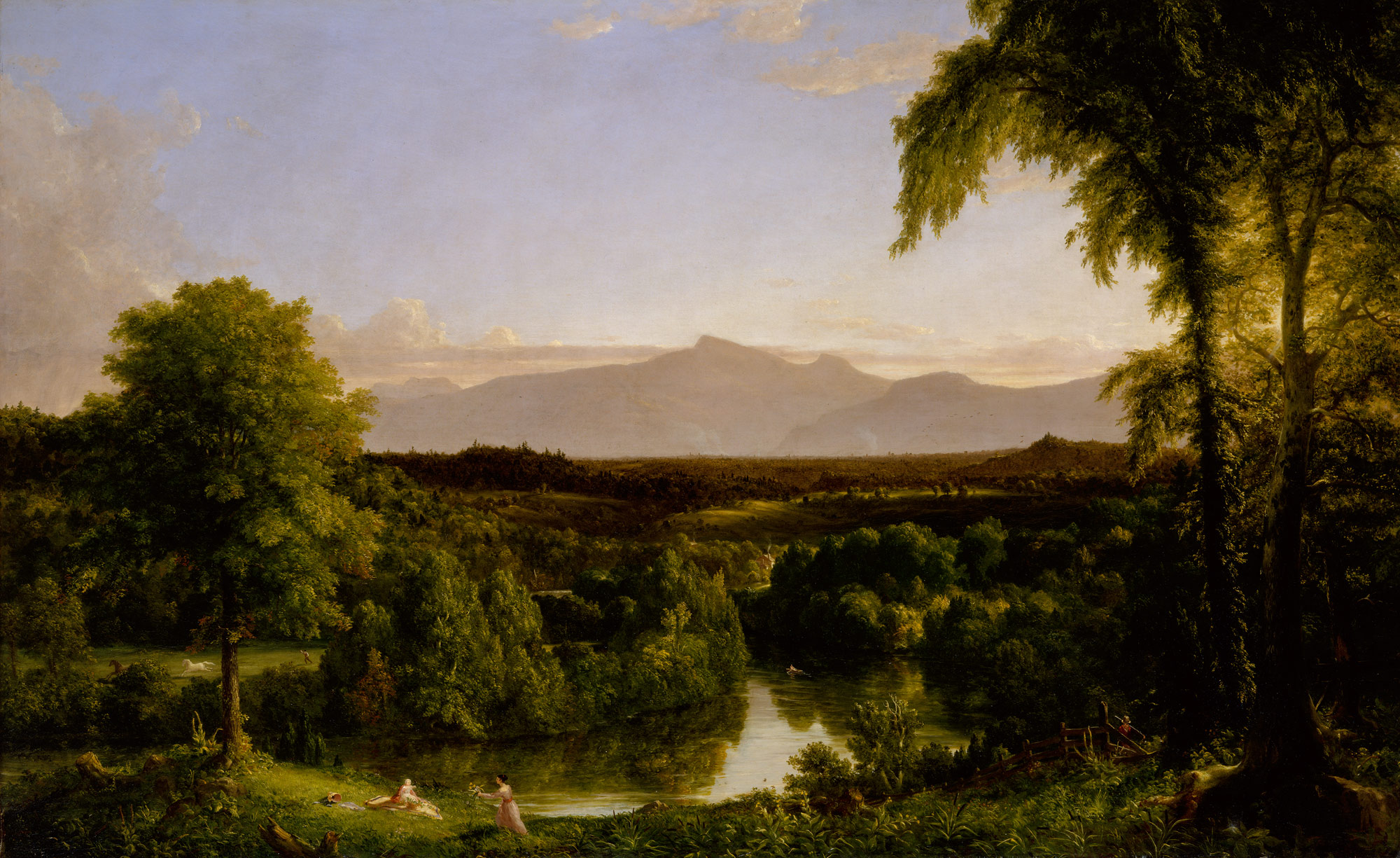 thomas cole essay heilbrunn timeline of art view on the catskill early autumn