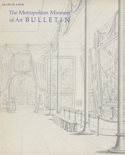 Metropolitan Museum of Art Bulletin v 24 no 7 March 1966