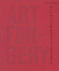 Art Forgery The Metropolitan Museum of Art Bulletin v 26 no 6 February 1968
