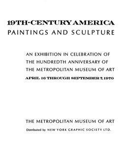 Nineteenth Century America Paintings and Sculpture
