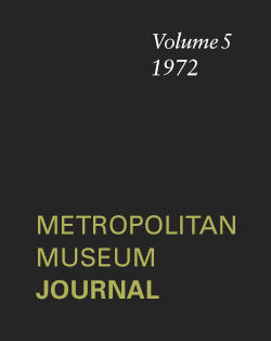 Study of the Works of Gassan Sadakazu in The Metropolitan Museum of Art The Metropolitan Museum Journal v 5 1972