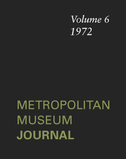 Vermeers Girl Asleep A Moral Emblem The Metropolitan Museum Journal v 6 1972