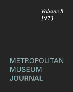 Excavations at Agrab Tepe Iran The Metropolitan Museum Journal v 8 1973