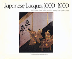 Japanese Lacquer 1600 1900 Selections from the Charles A Greeneld Collection