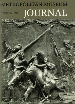 Style and Subject Matter in Native Thracian Art The Metropolitan Museum Journal v 16 1981