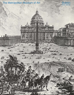 Building of the Vatican The Papacy and Architecture The Metropolitan Museum of Art Bulletin v 40 no 3 Winter 1982 1983