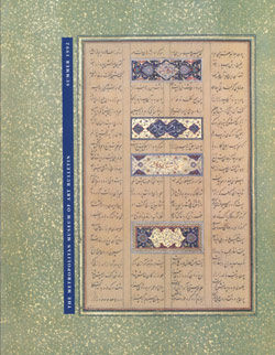 Islamic Calligraphy The Metropolitan Museum of Art Bulletin v 50 no 1 Summer 1992