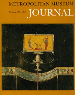 Reflections of an Italian Journey on an Early Attic Lekythos The Metropolitan Museum Journal v 28 1993
