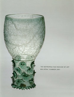 Ars Vitraria Glass in The Metropolitan Museum of Art The Metropolitan Museum of Art Bulletin v 59 no 1 Summer 2001