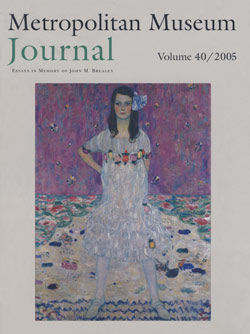 John Brealey and the Cleaning of Paintings The Metropolitan Museum Journal v 40 2005