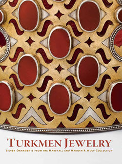 Turkmen Jewelry Silver Ornaments from the Marshall and Marilyn Wolf Collection
