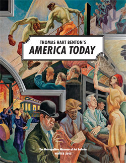 Thomas Hart Bentons America Today The Metropolitan Museum of Art Bulletin v 72 no 3 Winter 2015