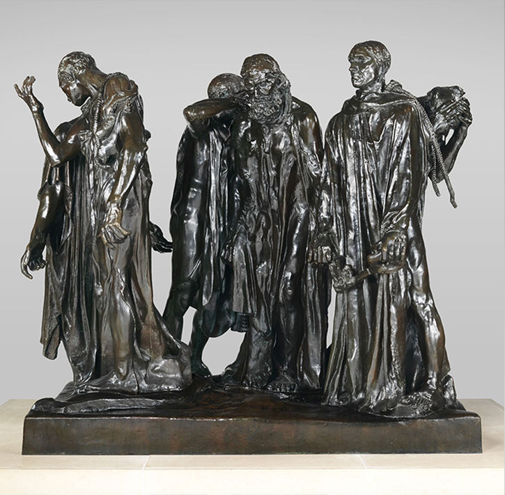Auguste Rodin | The Burghers of Calais | 1989.407