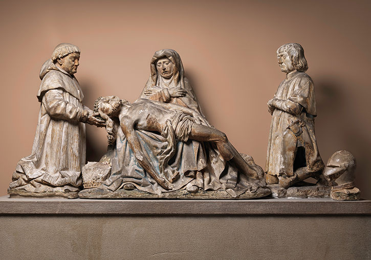 Pieta with Donors | 1515 | 16.31.1