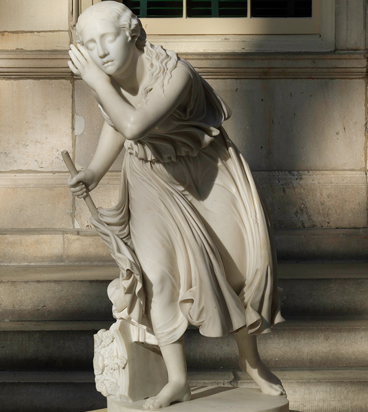 Randolph Rogers | Nydia, the Blind Flower Girl of Pompeii | 99.7.2